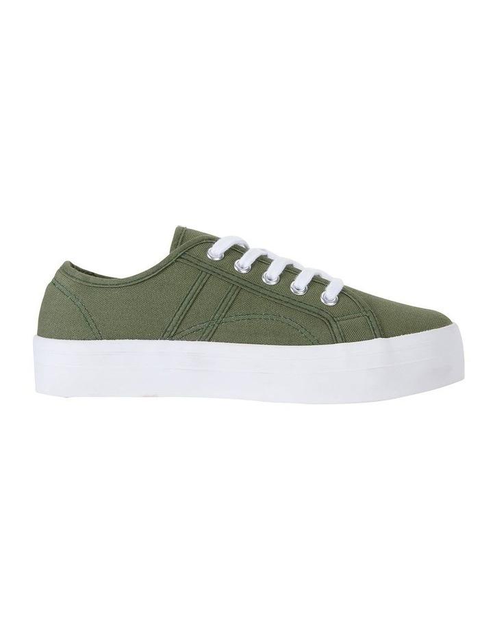 Scott Khaki Canvas Sneaker image 1