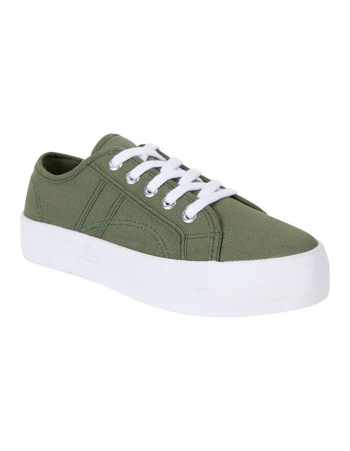 Scott Khaki Canvas Sneaker image 2
