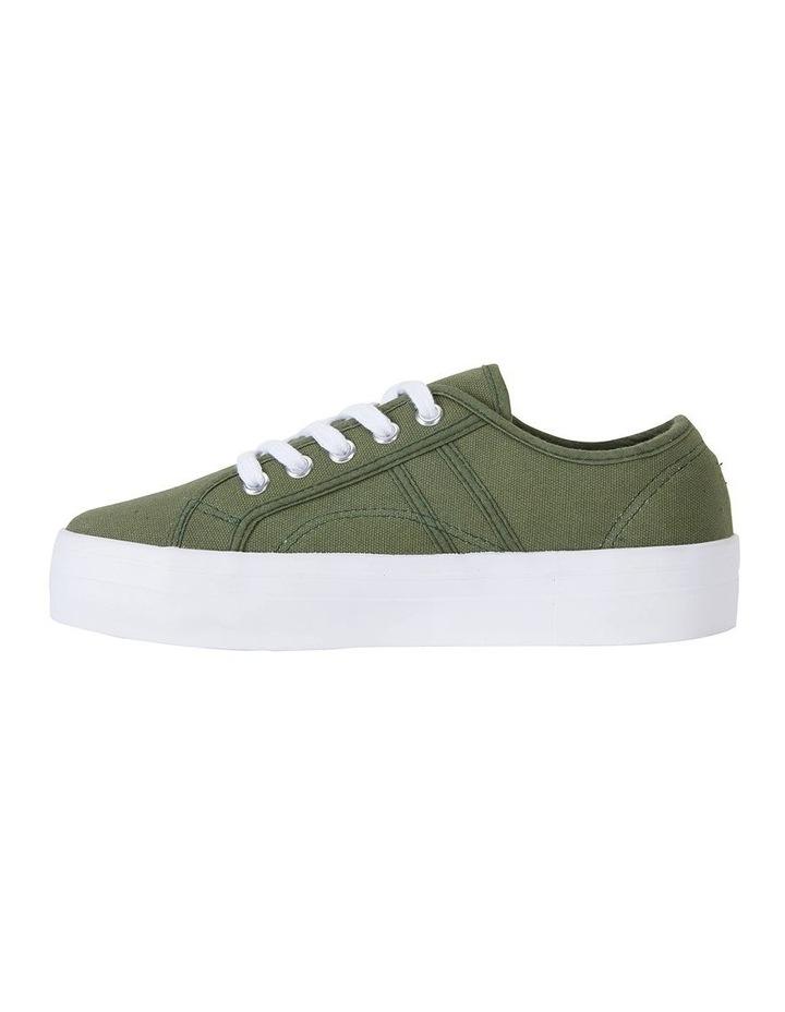 Scott Khaki Canvas Sneaker image 3