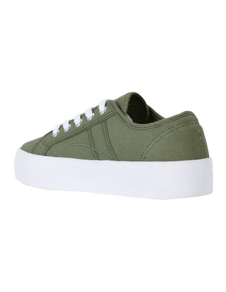 Scott Khaki Canvas Sneaker image 4