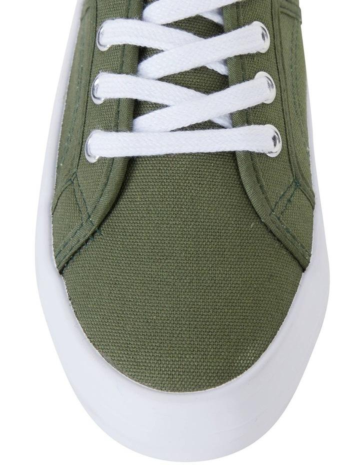 Scott Khaki Canvas Sneaker image 5