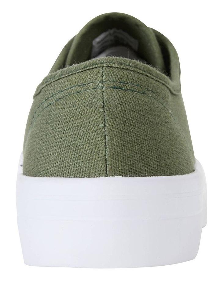 Scott Khaki Canvas Sneaker image 7