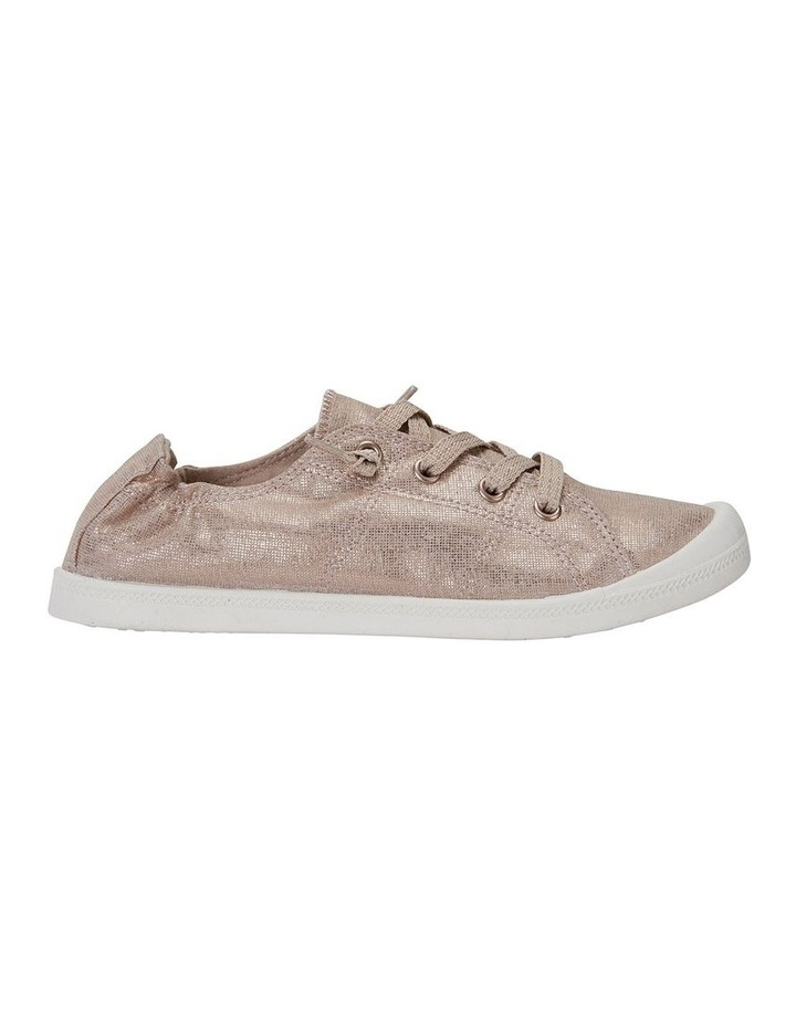 Link Rose Gold Fabric Sneaker image 1