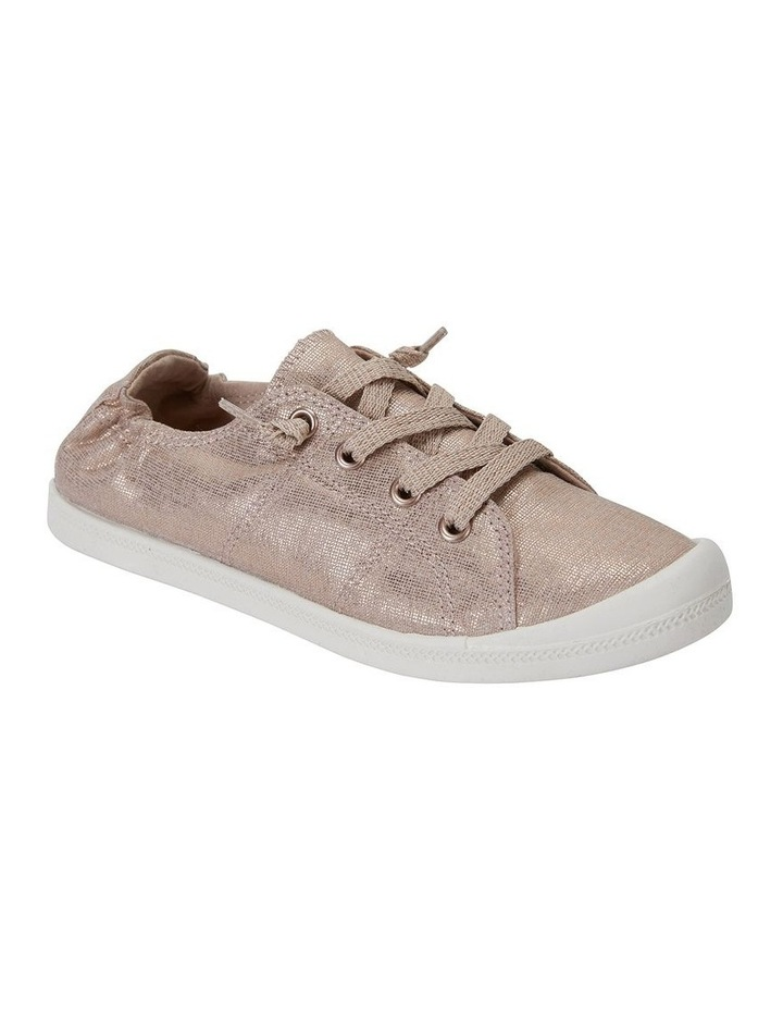 Link Rose Gold Fabric Sneaker image 2