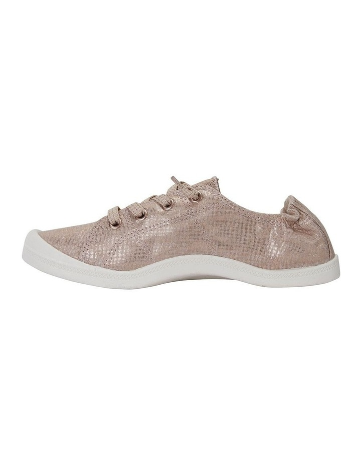 Link Rose Gold Fabric Sneaker image 3
