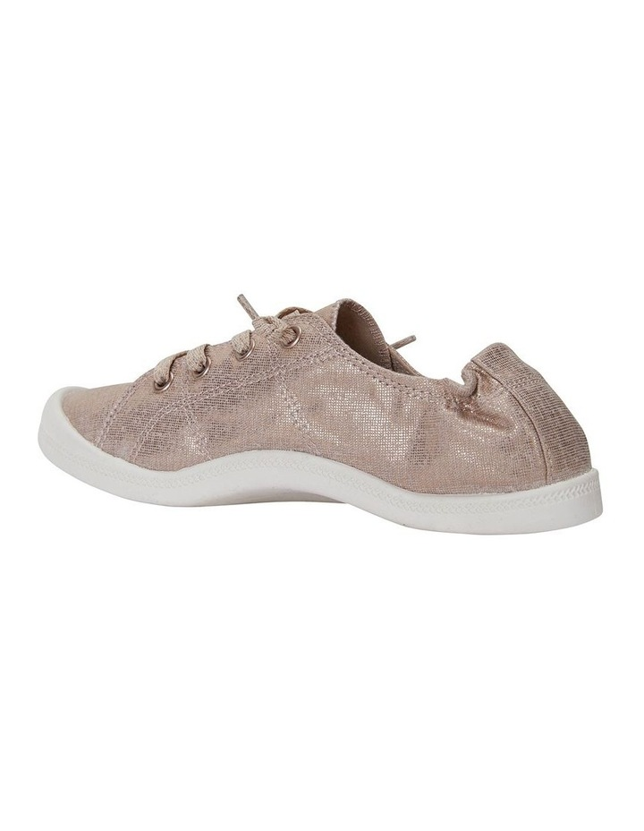 Link Rose Gold Fabric Sneaker image 4