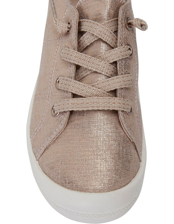 Link Rose Gold Fabric Sneaker image 5