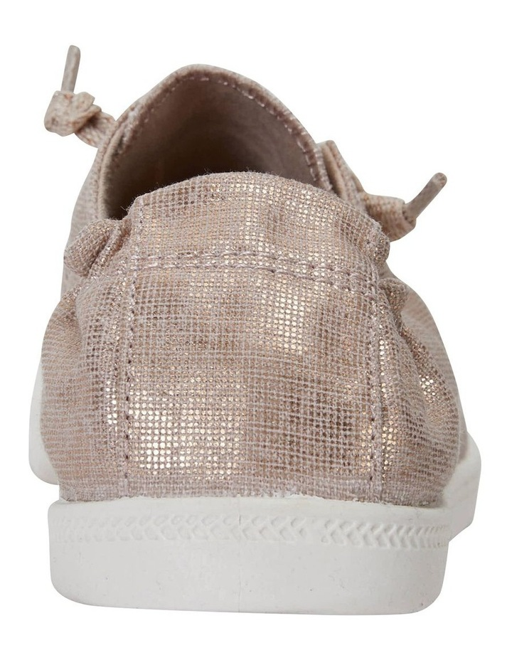 Link Rose Gold Fabric Sneaker image 7