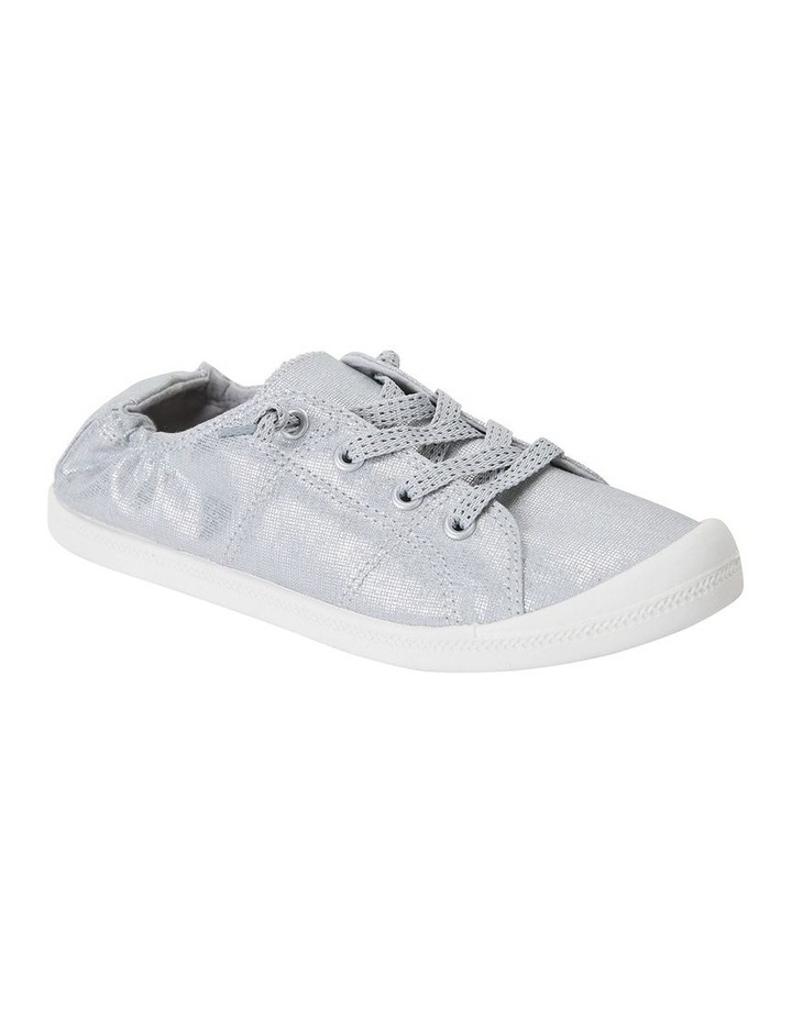 Link Silver Fabric Sneaker image 2