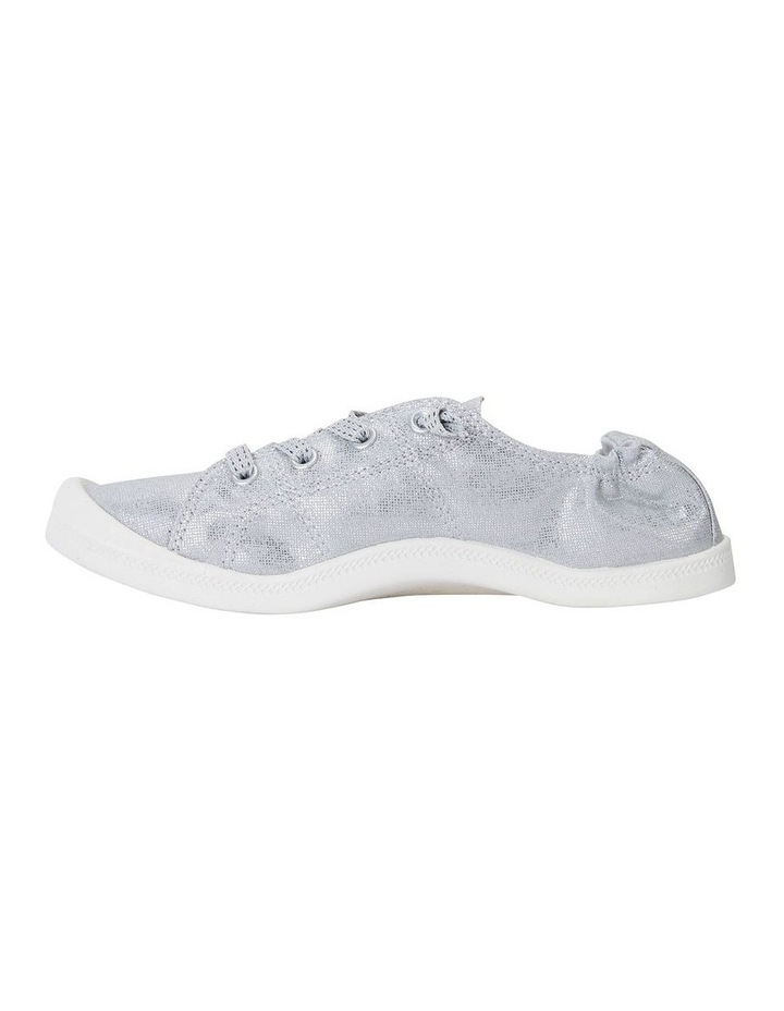 Link Silver Fabric Sneaker image 3