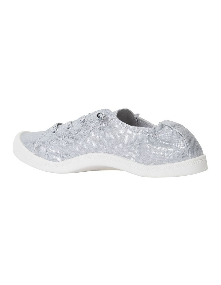Link Silver Fabric Sneaker image 4