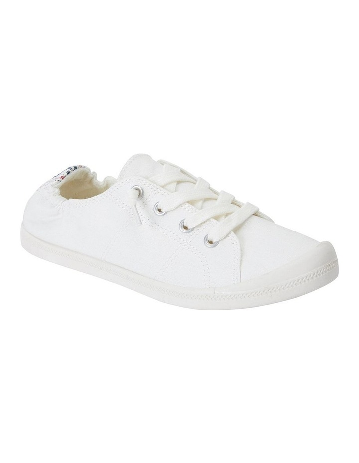 Link White Fabric Sneaker image 2