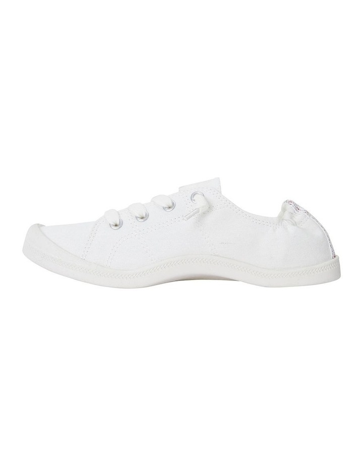 Link White Fabric Sneaker image 3