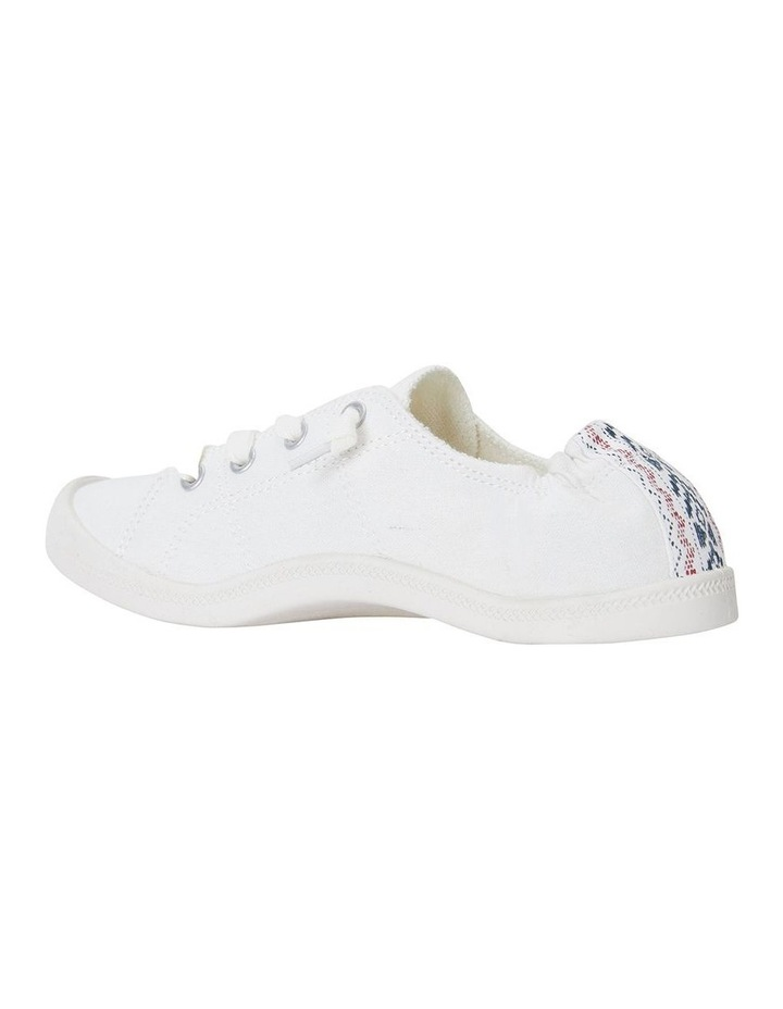 Link White Fabric Sneaker image 4