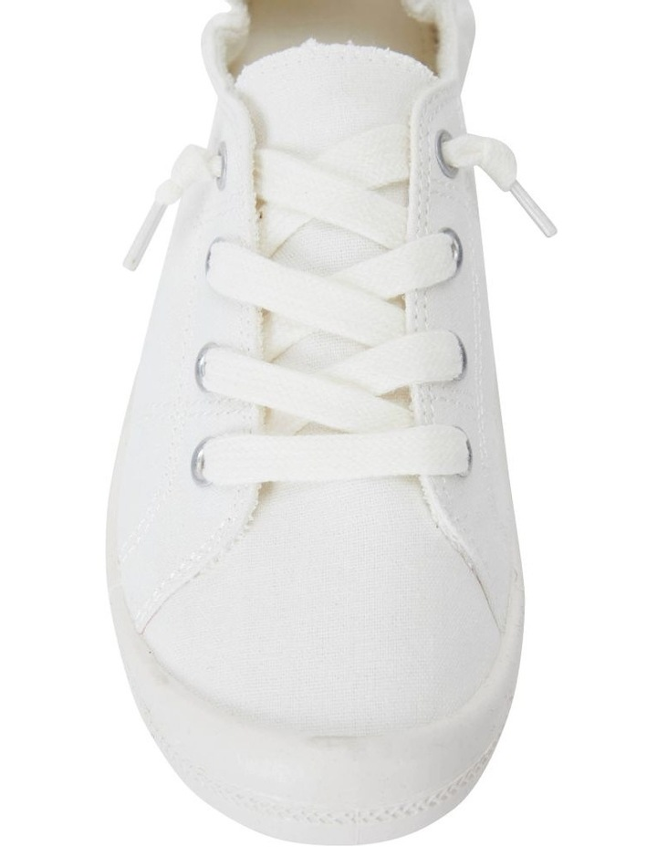 Link White Fabric Sneaker image 5