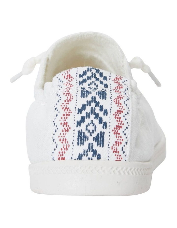 Link White Fabric Sneaker image 7