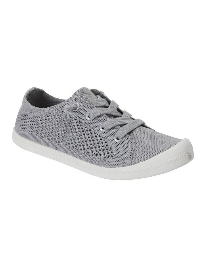 Lock Grey Knit Sneaker image 2