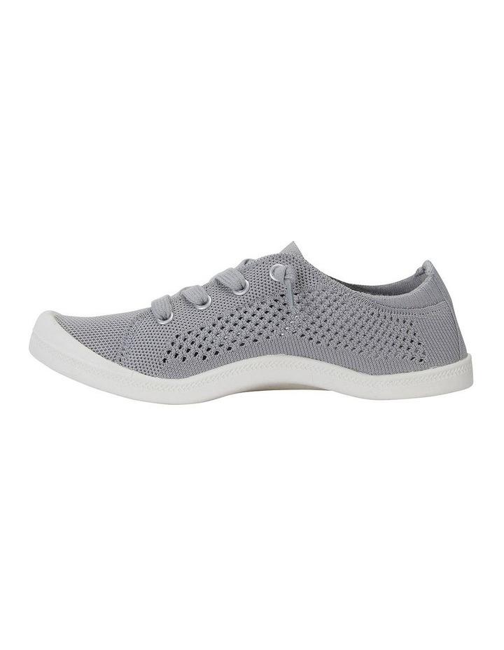 Lock Grey Knit Sneaker image 3
