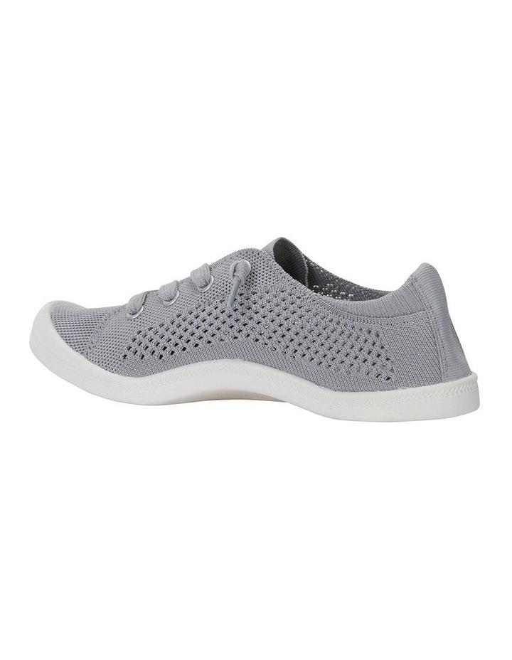 Lock Grey Knit Sneaker image 4
