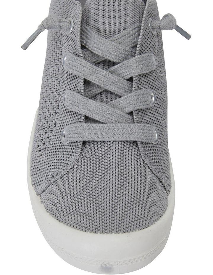 Lock Grey Knit Sneaker image 5