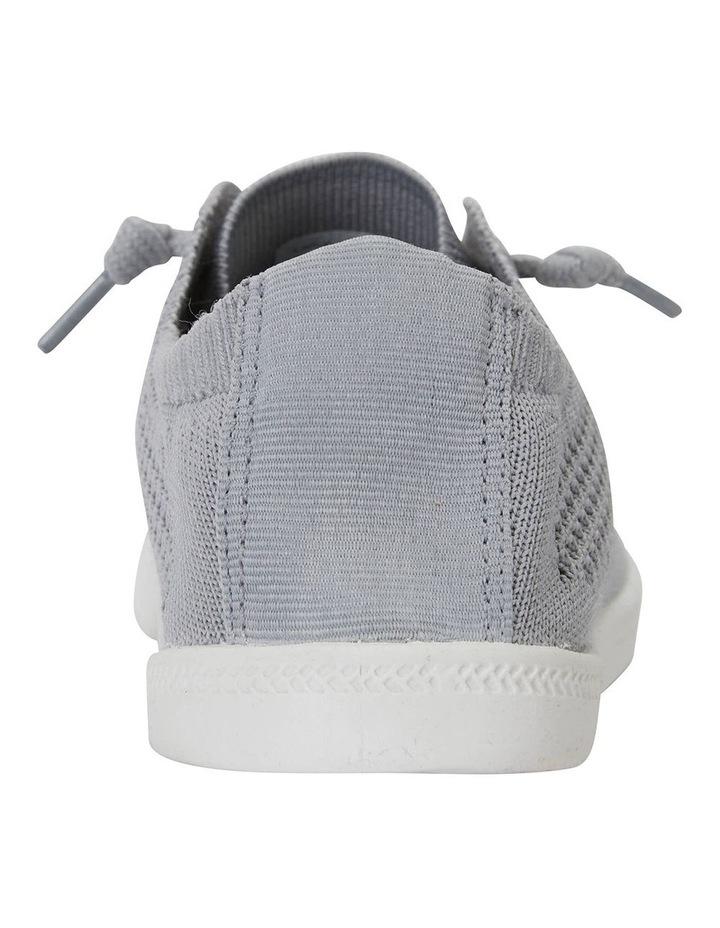 Lock Grey Knit Sneaker image 7
