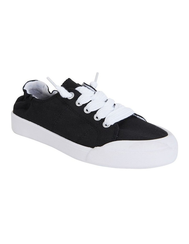 Switch Black Canvas Sneaker image 2
