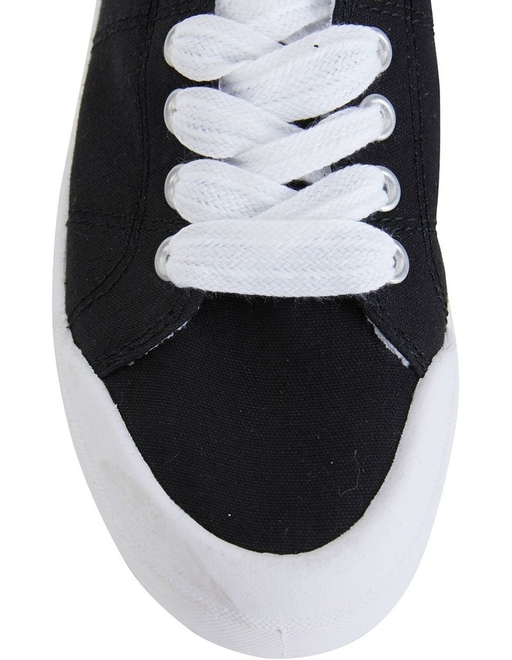 Switch Black Canvas Sneaker image 5