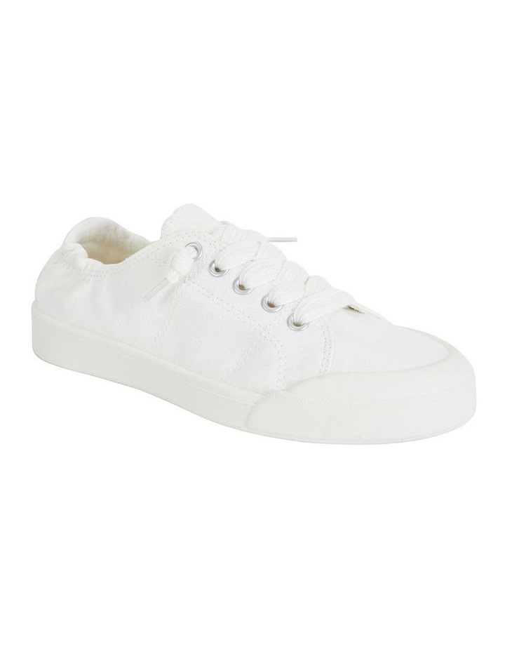 Switch White Canvas Sneaker image 1