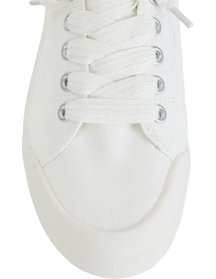 Switch White Canvas Sneaker image 5