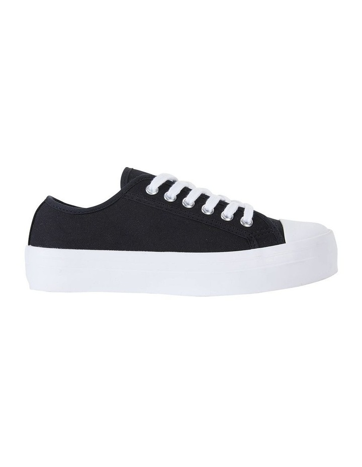 Stacey Black Canvas Sneaker image 1