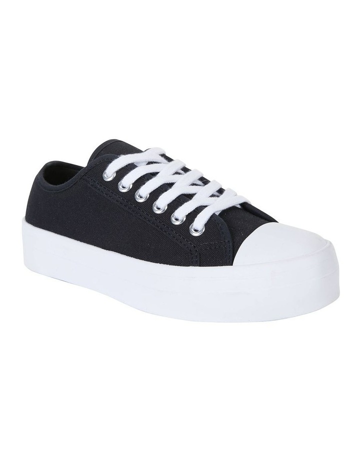 Stacey Black Canvas Sneaker image 2