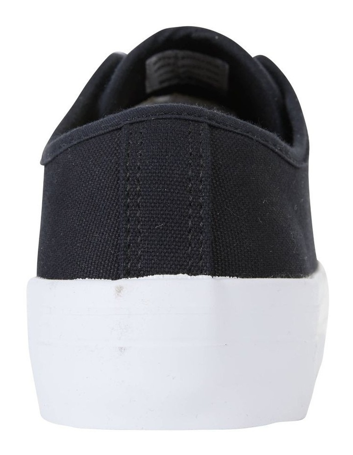 Stacey Black Canvas Sneaker image 7