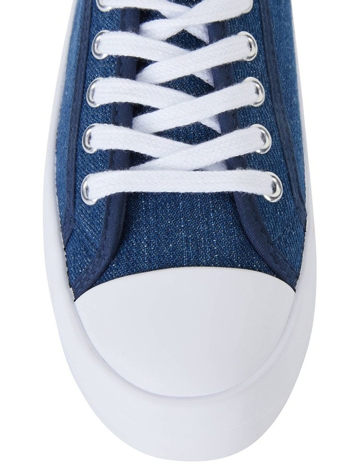 Stacey Denim Canvas Sneaker image 5