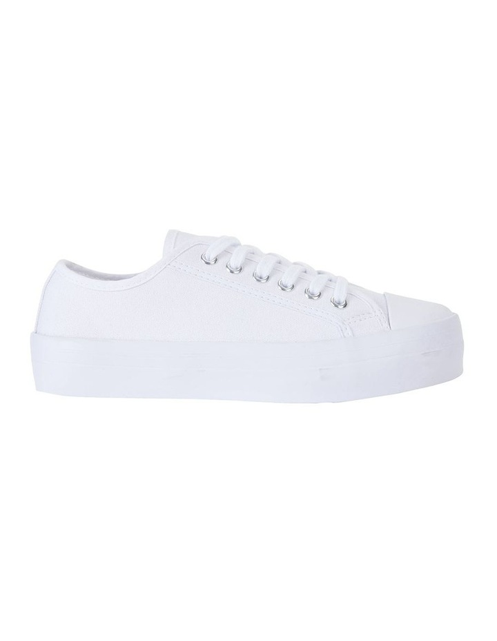 Stacey White Canvas Sneaker image 1