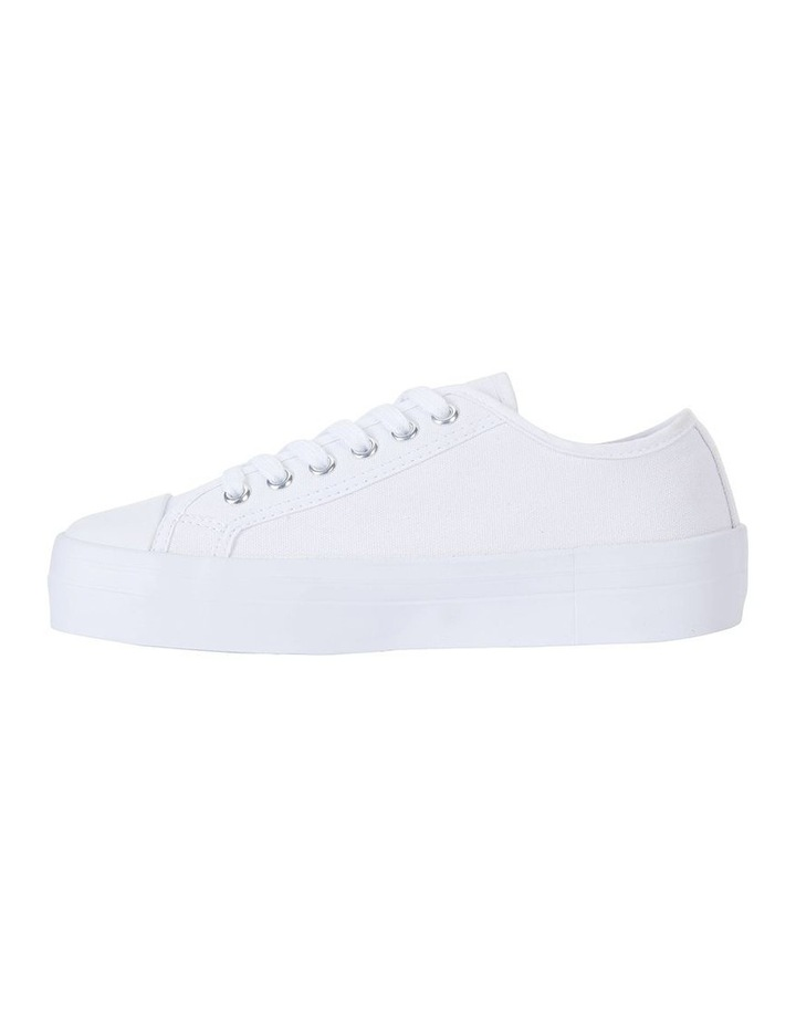 Stacey White Canvas Sneaker image 3