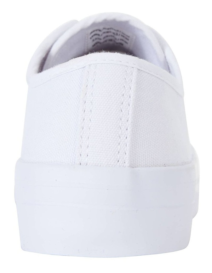 Stacey White Canvas Sneaker image 7