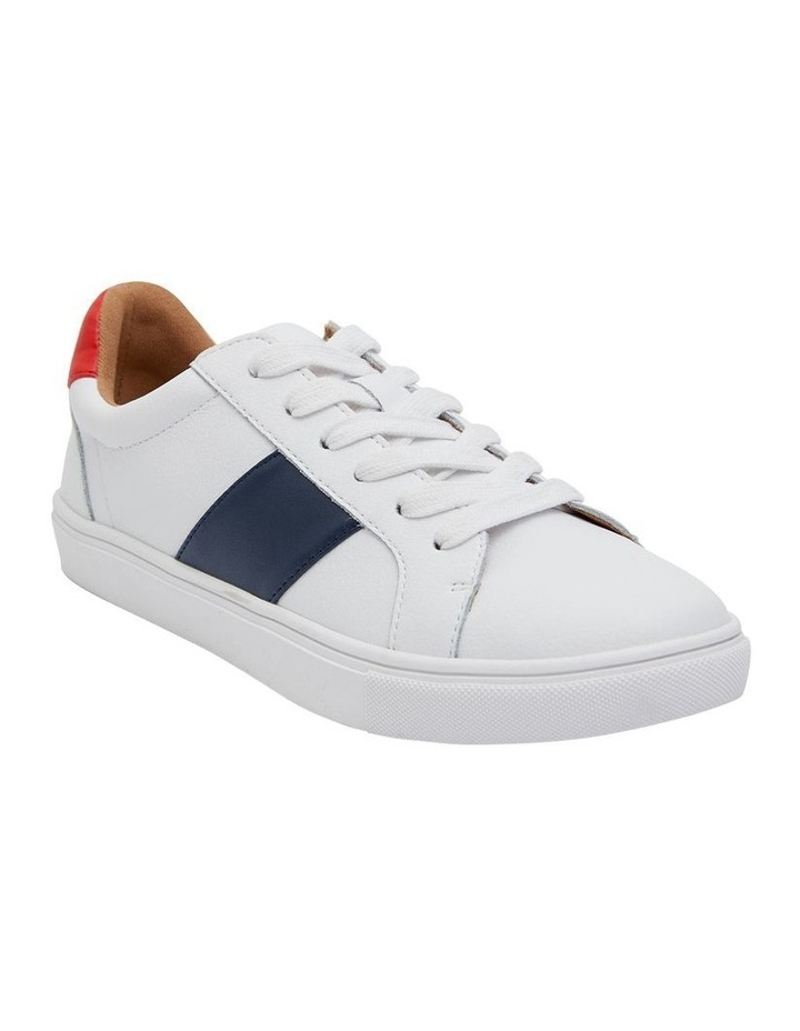 Storm White/ Navy/ Red Sneaker image 2