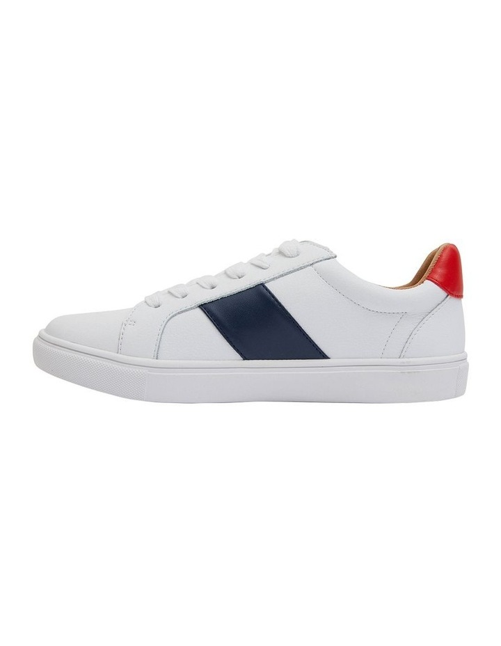 Storm White/ Navy/ Red Sneaker image 3