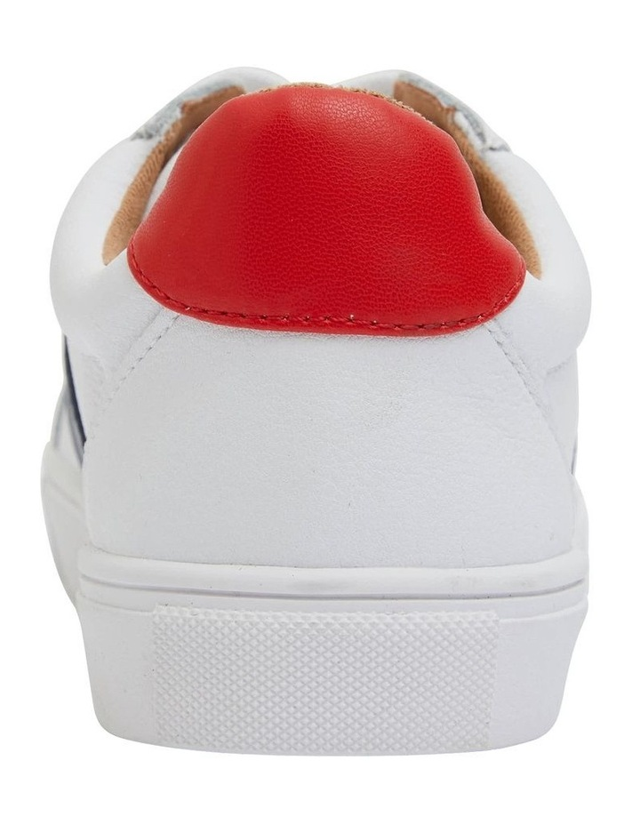 Storm White/ Navy/ Red Sneaker image 6