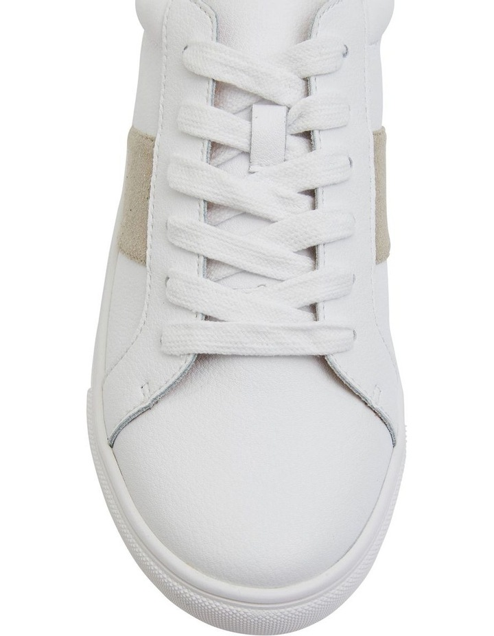 Storm White/Taupe Suede Sneaker image 5