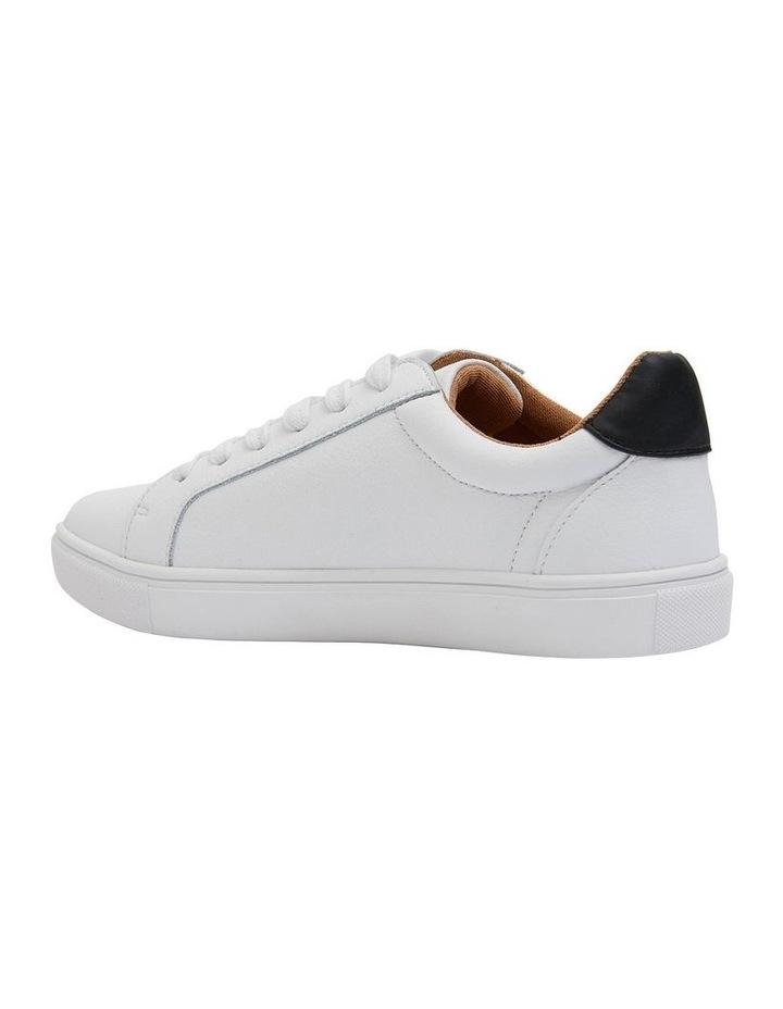 Stark White/Black Sneaker image 4