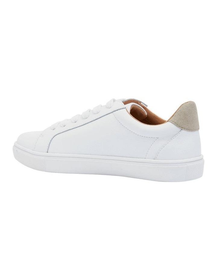 Saxon White Glove/ Taupe Suede Sneaker image 2