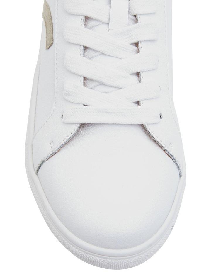 Saxon White Glove/ Taupe Suede Sneaker image 3