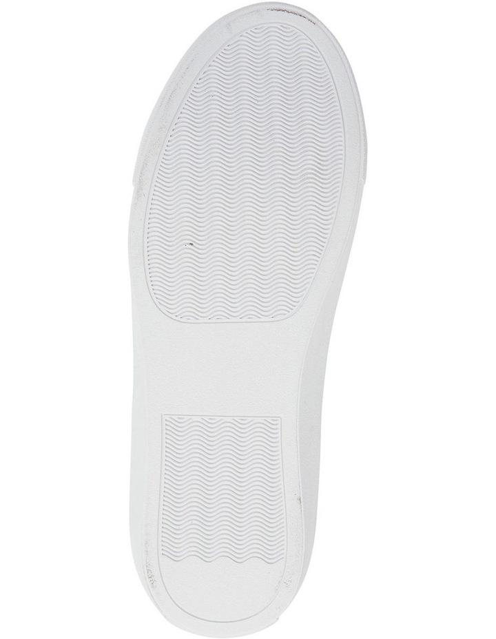 Saxon White Glove/ Taupe Suede Sneaker image 5