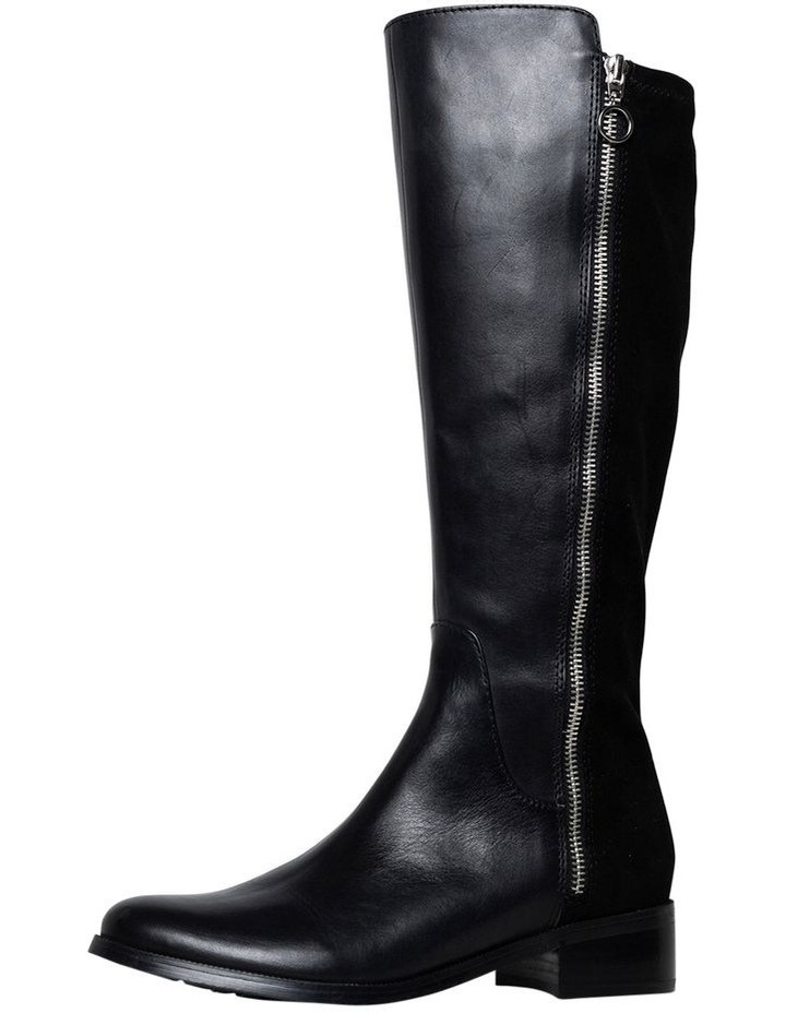 Alary Black/Suede Boot image 1