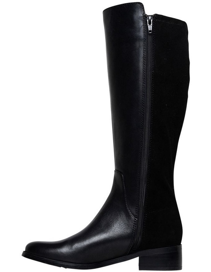 Alary Black/Suede Boot image 2