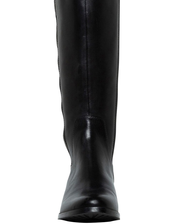 Alary Black/Suede Boot image 4