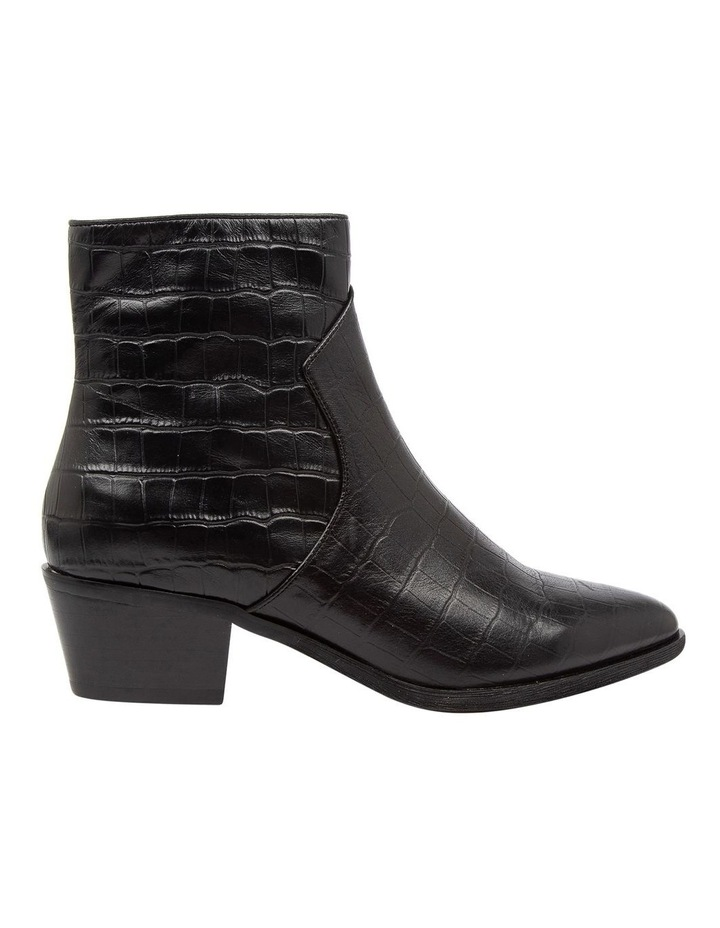 Akule Black Croc Boot image 1
