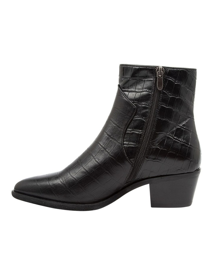 Akule Black Croc Boot image 3
