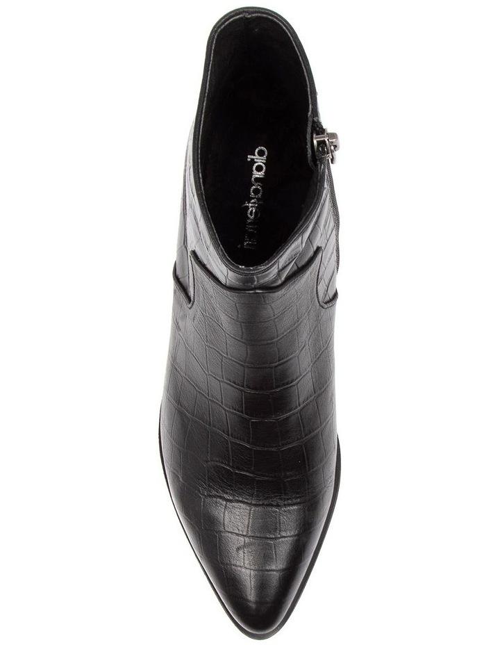 Akule Black Croc Boot image 5